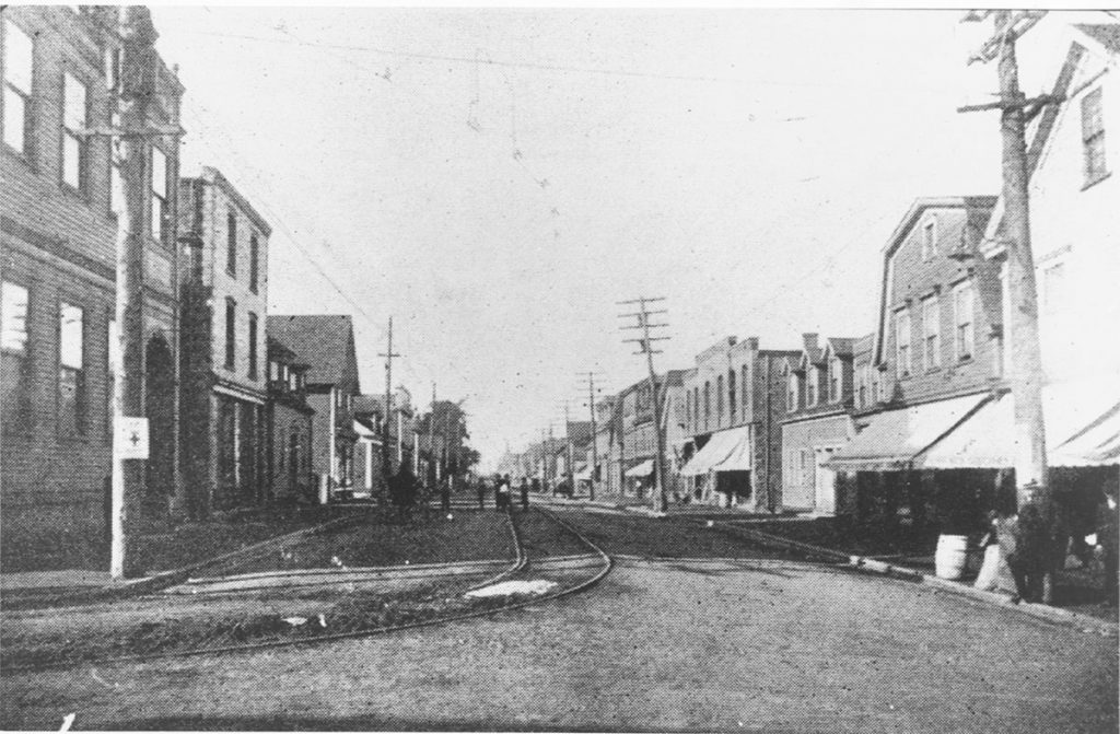 Historical photo of Sobeys store